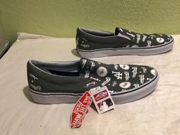 NEW Vans LA DODGERS Slip-On Mens Shoes SIZE 13 LOS ANGELES L