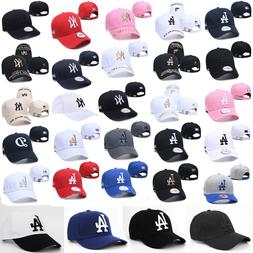 Adjustable Los Angeles Dodgers Hat Embroidered NEW NY Mens W