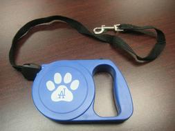 NEW LOS ANGELES DODGERS RETRACTABLE DOG / PET LEASH W/ LOCKI