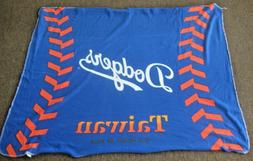 NEW LOS ANGELES DODGERS SGA 4X5 THROW BLANKET SPONSORED BY T