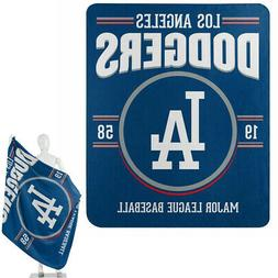 New Northwest MLB Los Angeles Dodgers Fleece Throw Blanket L