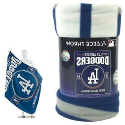 New Northwest MLB Los Angeles Dodgers Large Soft Fleece Thro