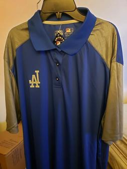 New with Tags Los angeles dodgers Polo Tx3 Cool  Size XXXL