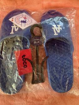 nwt la dodgers unisex slides sandals large