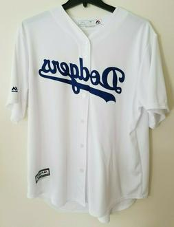 NWT Los Angeles Dodgers Majestic Cool Base Womens, Men, Yout