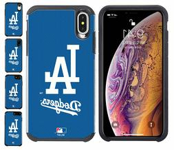 Official MLB ShockProof Hybrid Cover Case for Cell Phone Los