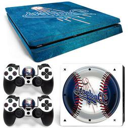 Playstation Los Angeles Dodgers Baseball MLB team logo skin