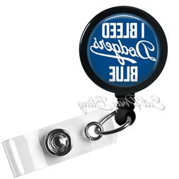 Retractable Badge Reel Name ID Pull Clip Holder Lanyard LA L