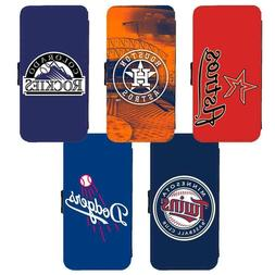 Samsung Galaxy PU Leather Wallet Flip Stand Case of MLB Majo