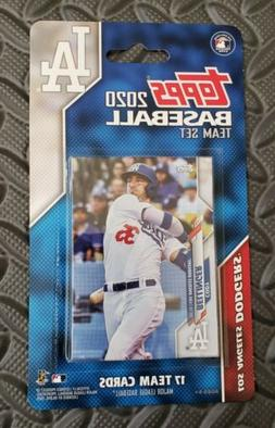 Topps 2020 Los Angeles Dodgers Team Card Set