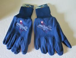 TWO  PAIR OF LOS ANGELES DODGERS, SPORT UTILITY GLOVES FROM