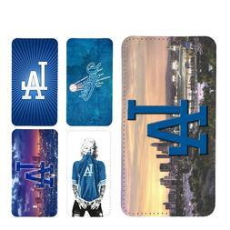 wallet case for LA Dodgers Los Angeles galaxy S7 S8 S8plus S