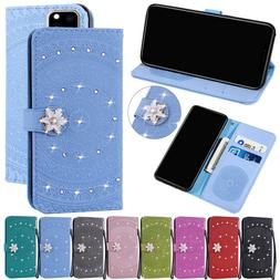 Wallet Flip Leather Phone Case Cover For iPhone 11 Pro Max X
