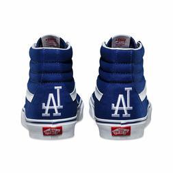 VANS x LA DODGERS SK8-Hi Mens Shoes  LOS ANGELES LAD Basebal